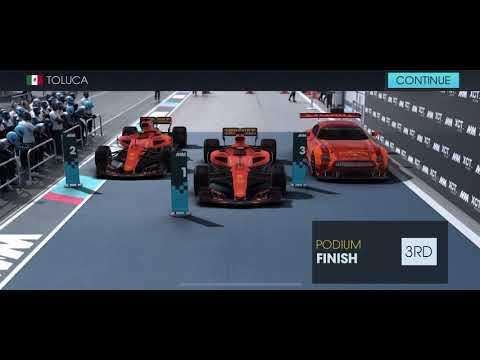Motorsport Manager Racing Online, Toluca, Exhibition Race |