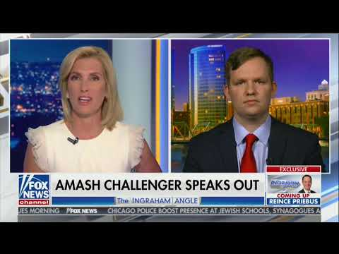 Justin Amash primary challenger: He 'has more in common with Rashida Tlaib' than GOP Voters