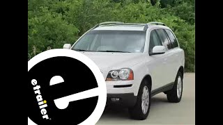Installation of a Trailer Hitch on a 2007 Volvo XC90 - etrailer.com