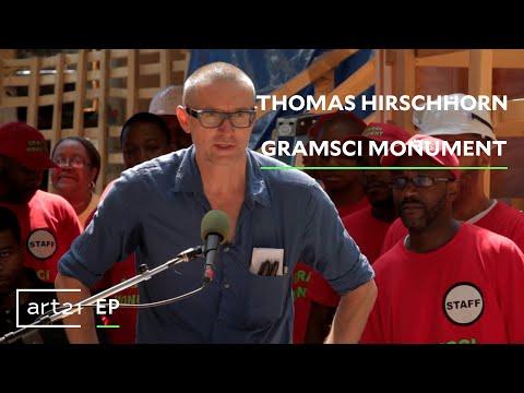 "Thomas Hirschhorn: ""Gramsci Monument""   ART21 ""Exclusive"""