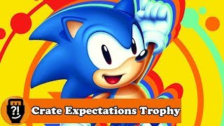 Sonic Mania (PS4) - Crate Expectations Trophy
