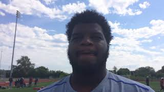 Oak Park OL Marquan McCall talks about commitment to Kentucky thumbnail