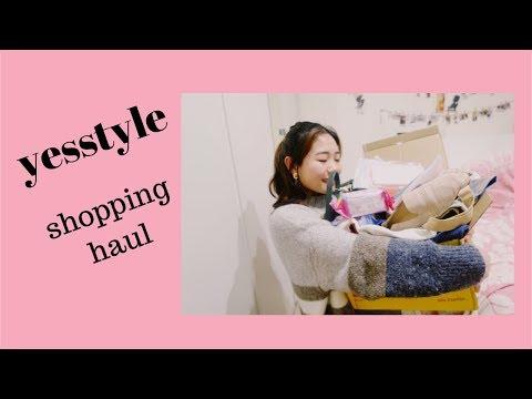 【上集】YESSTYLE 购物分享 | SHOPPING HAUL | 美妆,首饰,包包,情侣手机壳。。。