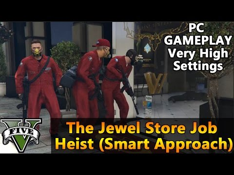 full download grand theft auto 5 gta v mission guide the jewel store job heist loud approach 100. Black Bedroom Furniture Sets. Home Design Ideas