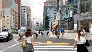 【4K】Tokyo Walk  Nishishinjuku, 2020