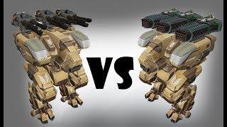Fury (avenger) vs Fury (thunder) Test   War Robots