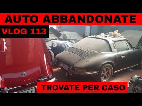 AUTO ABBANDONATE TROVATE PER CASO - ALCUNE RARISSIME -