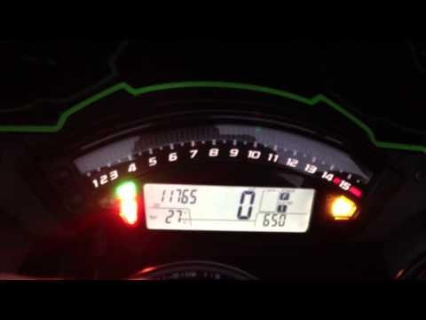 Zx10r Dashboard Sequence