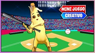 BASEBALL EN FORTNITE (PVP FORTNITE MINIJUEGOS)
