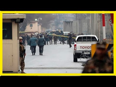 Afghan official says car bomber kills 2 in Kabul