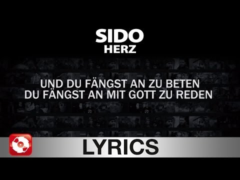 SIDO - HERZ AGGROTV LYRICS KARAOKE (OFFICIAL VERSION)