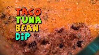 Taco Tuna Bean Dip Recipe (healthy/bodybuilding)