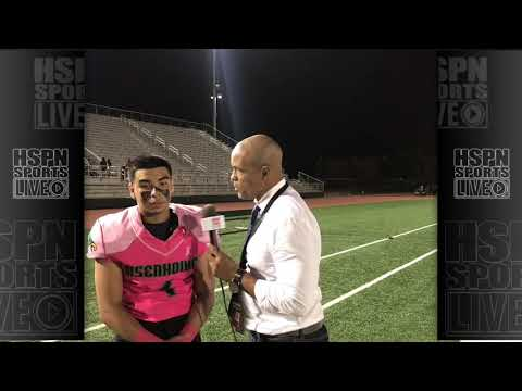 INTERVIEW - HSPN PLAYER OF THE GAME - LIVE HIGH SCHOOL FOOTBALL BROADCAST & LIVE STREAM