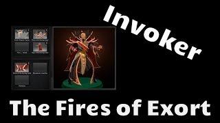 Omsk Dota, trade - The Fires of Exort set - Invoker
