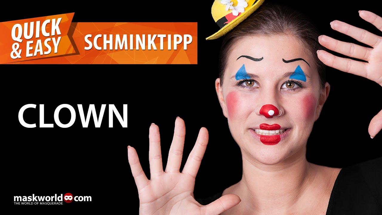 clown schminken einfach clown schminken leicht gemacht. Black Bedroom Furniture Sets. Home Design Ideas