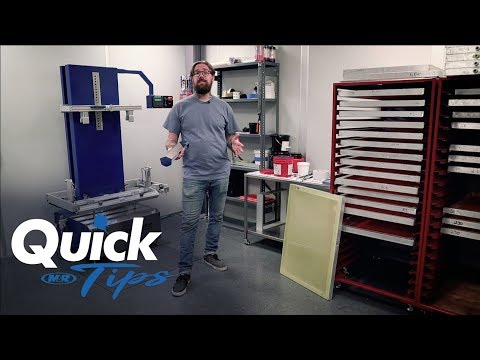 Three Tips on Coating Screens for Screen Printing