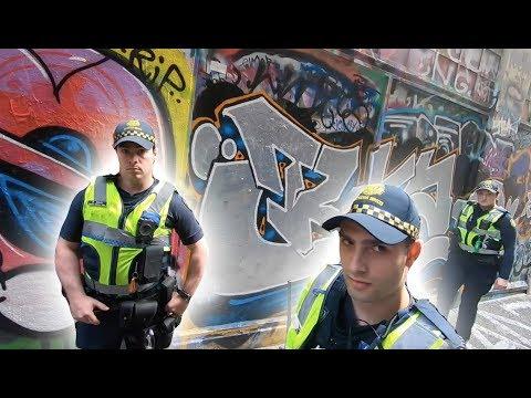 Graffiti in Melbourne | Police Crash The Party