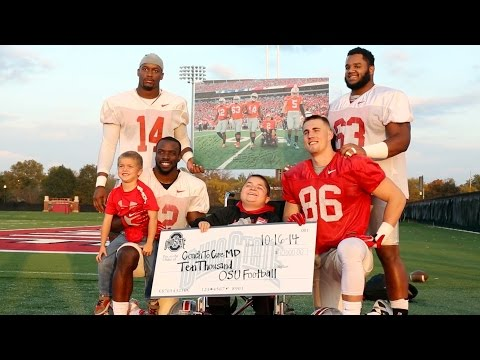 Ohio State Football: Coach 2 Cure MD Donation
