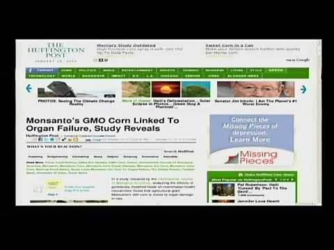 Alex Jones Tv: Monsanto's GMO Corn Link to Organ Failure!!