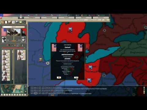 [Let's Play] Kaiserreich: America Ep 5 Part 1. The Treaty of Sacramento Redux