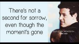 Glee/Cory Monteith - Not The End (Lyrics) HD