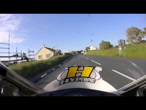 Isle of Man TT 2015 - Tuukka Korhonen - On Bike Lap - Supersport Practice