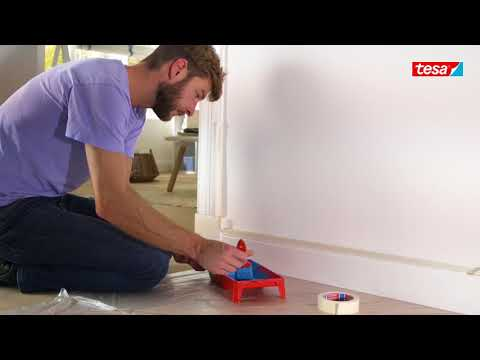 tesa® Masking Tape Standard - the smart and reliable paint helper
