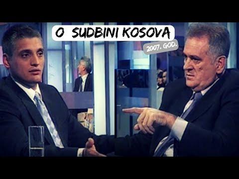 Kako su 2007. govorili o Kosovu - Tomislav Nikolić, Čedomir Jovanović i Riza Halimi (CELA EMISIJA)