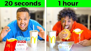 FASTEST To Eat MCDONALDS Wins £10,000 FT BETA SQUAD