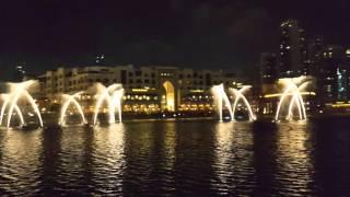 Поющий Танцующий фонтан. Дубаи. Singing Dancing fountain. Dubai. Enrique Iglesias