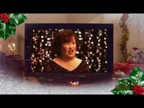 "Susan Boyle - Video Commercial Album "" Home For Christmas "" 2013"