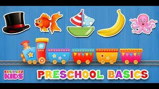 Preschool Learning Free App from EduBuzzKids for Android