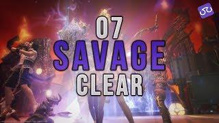 【FFXIV】Sigmascape V3.0 Savage Clear (O7S) ~ Scholar PoV