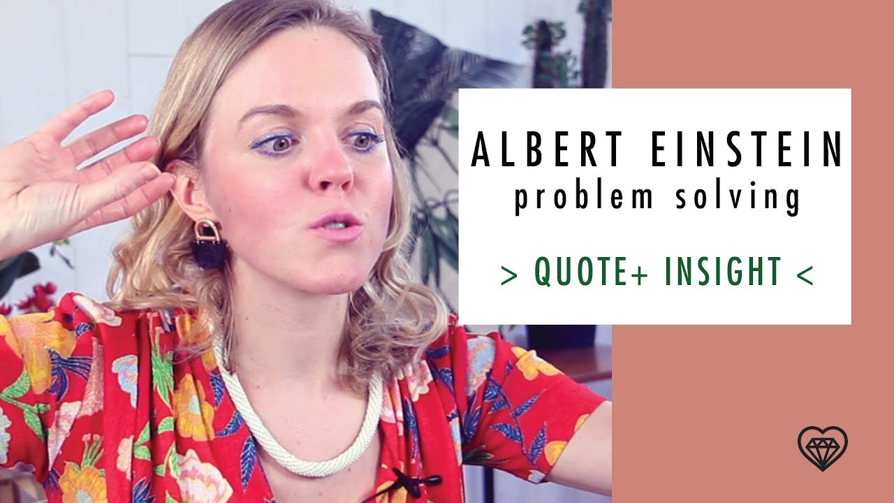 Business Quotes For Success Albert Einstein Quote Problem Solving