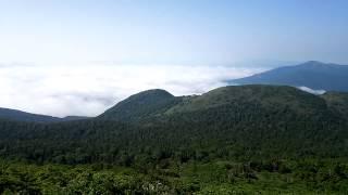 岩手山から鬼ヶ城側に~最後は八幡平の山々...姥倉山からは八幡平市と雫...