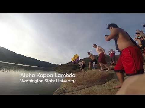 Alpha Kappa Lambda - Washington State 2017 Recruitment Video