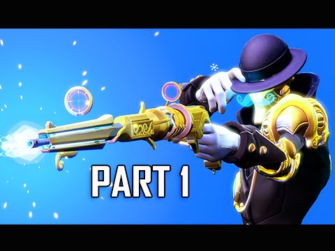 Battleborn Walkthrough Part 1 - First Hour! (Let's Play Commentary)
