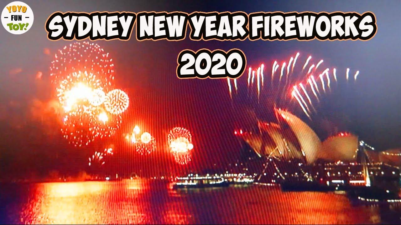 Sydney New Year Fireworks 2020 Australia NYE 2019 - Happy ...