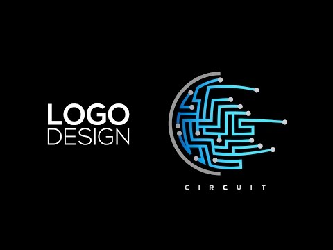 Professional Logo Design - Adobe Illustrator Cc(Circuit)