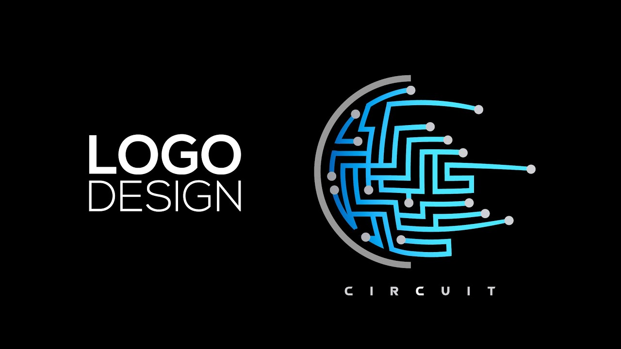 Professional Logo Design Adobe Illustrator Cc Circuit