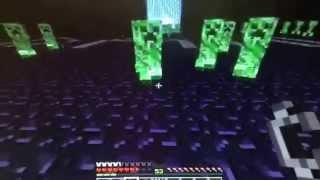 Minecraft: Mob Battle-Zeus vs Creeper