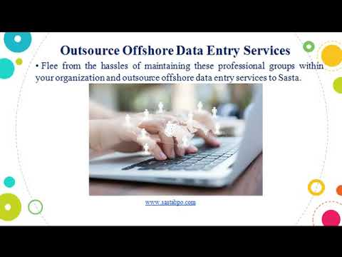 Outsource Offshore Data Entry Services