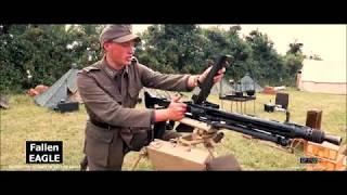 German Waffen SS German War Film - 'Behind The Scenes' no: 8 The MG42 - Fallen Eagle - 5K HD