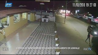 Mulher é atropelada enquanto pegava objetos no porta-malas do próprio carro em Joinville