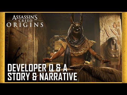 Assassin's Creed Origins: Developer Q&A - Story & Narrative | Ubisoft [US]