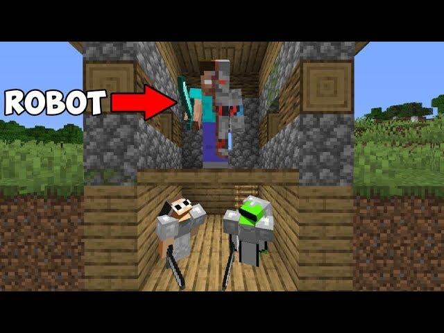 2 Minecraft Speedrunners Vs Terminator Youtube