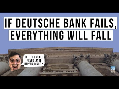 Deutsche Bank Collapse Could Be the BIGGEST RISK To the Global Financial System in 2019!