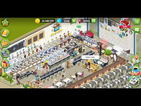 GAME MY CAFE LEVEL 37 INTERIOR FRENCH