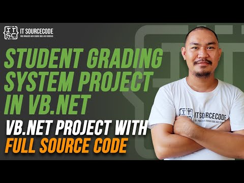 Student Grading System VB Net Full Source Code | [2019] VB Net Projects