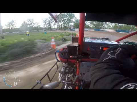 Starlite Speedway, 600 Micro Sprint Heat Race, 5/24/19